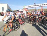 300 ciclistas participan en el Campeonato Regional XCM y tercera prueba de BTT Región de Murcia disputada en Puerto Lumbreras