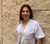 El alcalde felicita a la doctora totanera, Sandra Gonz�lez Montiel