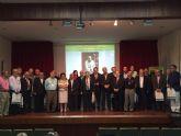 El alcalde acompaña al Cronista Oficial de la Ciudad de Totana, Juan Cánovas Mulero, en el IX Congreso de Cronistas Oficiales de la Región de Murcia
