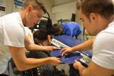 La UPCT lleva a Mazarrón un curso de fabricación de prototipos de competición