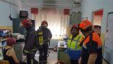 Activación de alarma en el CEIP Hernández Ardieta por simulacro