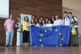Entregan el premio Euroscola al grupo 'San Peter-Sburgo' del CEC San Pedro Apóstol