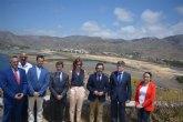 La regeneración de la bahía de Portmán avanza a buen ritmo con la construcción de las tres balsas para la extracción de estériles