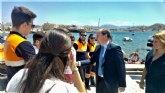 La Comunidad aumentará su ayuda para la vigilancia de las playas en Mazarrón