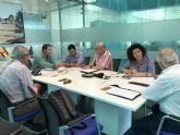 Miembros del Comité de Empresa de RENFE y ADIF mantienen una reunión con el Alcalde de Torre Pacheco