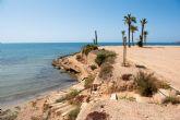 La playa Negra mejorará su acceso con una escalera de madera similar a las de el mojón y rincón de Bolnuevo