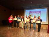 La Concejalía de Igualdad de Molina de Segura entrega los premios del XXIV Certamen Literario de Poesía y Relato Corto y del XX Concurso de Pintura 8 de marzo 2019
