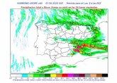Se activa en la Regi�n de Murcia el plan Inunmur en fase de preemergencia por la posibilidad de tormentas muy fuertes