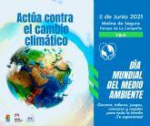 Molina de Segura celebra el Día Mundial del Medio Ambiente mañana martes 8 de junio con actividades en el Parque de la Compañía, bajo el lema Actúa contra el cambio climático