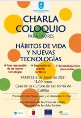 Una charla para padres y madres sobre hábitos de vida y nuevas tecnologías