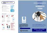 El Ayuntamiento recomienda la prevención en las casas particulares contra la proliferación del mosquito tigre