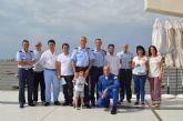 La Patrulla Acrobática Águila realizará una exhibición aérea el domingo 24 de julio con motivo de las fiestas de Santiago de la Ribera