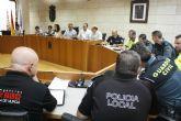 Se celebra la Junta Local de Seguridad Ciudadana para coordinar el dispositivo de seguridad y emergencias de las fiestas patronales de Santiago�17