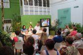 Isabel Navarro presenta su nuevo libro 'La Boca Agua' en Puerto Lumbreras