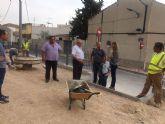 La Alcaldesa de Molina de Segura visita obras en ejecución en varios puntos del municipio