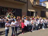 El colegio Fontes 'Camina hacia Europa'