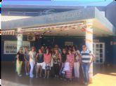 Alumnos del programa mixto de Atención Sociosanitaria a Personas Dependientes en Instituciones Sociales realizan dos visitas didácticas a fundaciones de Cartagena
