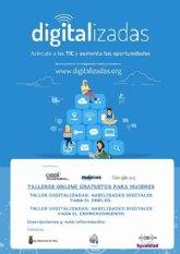 «Digitalizadas» Talleres online gratuitos para mujeres