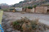 Urbanismo inicia la limpieza de los solares municipales de Morería Baja y Cantarerías