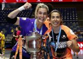 La torreña Cristina Pérez gana la liga nacional de fútbol sala con el Pescados Rubén Burela
