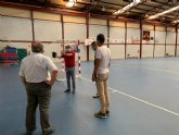 Deportes trabaja en la ampliación del polideportivo de San Ginés con la integración de los vestuarios