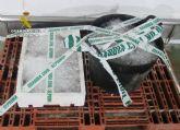 La Guardia Civil interviene en Mazarr�n m�s de 35 kilos de pulpo capturado il�citamente