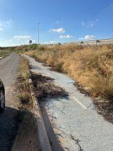 El PSOE de San Javier pide a la Comunidad Autónoma que arregle el carril bici del Mirador