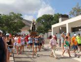 Romería en honor a la Virgen del Carmen en la pedanía lumbrerense de Góñar 2016