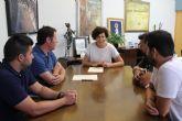 El Club Deportivo Lumbreras firma un nuevo convenio de colaboración con el Ayuntamiento de Puerto Lumbreras