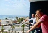 Turismo destaca el potencial y la oferta hotelera de calidad de Mazarr�n tras la apertura del Alegr�a Dos Playas