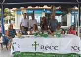 La Asociación Española Contra el Cáncer recauda 8.205 euros  en San Pedro y Lo Pagán