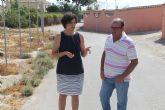 La pedanía de La Estación-Esparragal mejorará la señalización de sus caminos