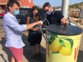 Estrella de Levante installs about 60 can compactors as a recycling action for the beaches of the Region