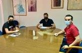 El concejal de Comercio se reúne con la Asociación de Comerciantes y Empresarios de Alguazas