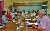 El alcalde y el concejal de Urbanismo se reúnen con el delegado del Gobierno para solicitar la paralización del trazado de la Línea de Alta Tensión
