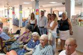 Visita a la Residencia de mayores de Mensajeros de la Paz
