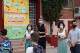 La Alcaldesa de Archena inaugura el curso escolar de Infantil y Primaria en el Micaela Sanz