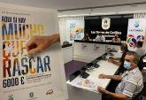 Una campaña de 'rasca y gana' repartirá 6.000 euros en premios en Las Torres de Cotillas