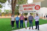 Unos 2.500 escolares inician el curso en Las Torres de Cotillas, que llega con la novedad de la ampliación del colegio 'San José'