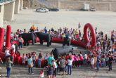 Cientos de niños participan en el encierro infantil en las Fiestas de Puerto Lumbreras
