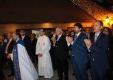 El presidente de la Comunidad asiste a la procesión en honor a la Virgen del Rosario, patrona de Torre Pacheco