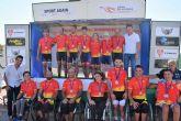 Los mejores ciclistas adaptados midieron sus fuerzas en Mazarr�n