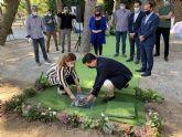 Las obras de remodelación del Parque Almansa  arrancan con la colocación de la primera piedra