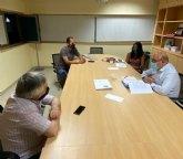 Pascual Lucas se reúne con la Asociación de Empresarios e Industriales de Cieza