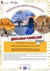 La Concejalía de Turismo de Molina de Segura organiza la visita guiada gratuita Yincana Familiar el viernes 15 de octubre