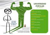 Abierto el plazo de matriculación de los cursos de la Universidad Popular de Calasparra 2021/20212