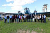 La Corporación Municipal del Ayuntamiento de Alcantarilla, lleva a cabo una visita institucional a la Base Aérea