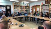 La consejera de Educación asiste a la reunión de trabajo de directores de centros educativos de la zona del Guadalentín