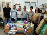ADAPT dona material didáctico a Las Esperanzas a través del proyecto 'una tonelada de monedas'