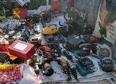La Guardia Civil sorprende a una persona vendiendo un centenar de objetos supuestamente sustraídos